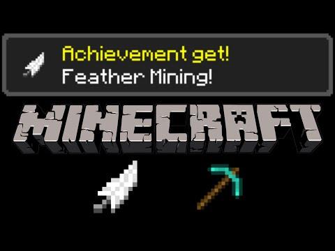 Minecraft - Feather Mining Tutorial