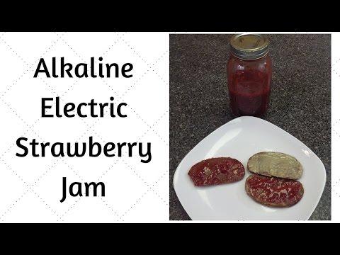 Strawberry Jam Dr. Sebi Alkaline Electric Recipe