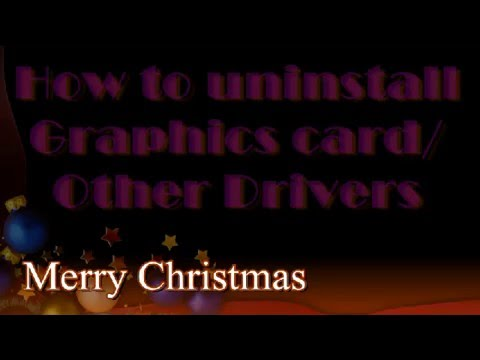 How to Uninstall Graphics Card / Other Drivers using Command Prompt Or Recovery Console