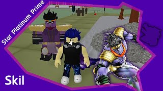 Roblox Project Jojo GOLD EXPERIENCEร่าง1 อธิบาย Skill