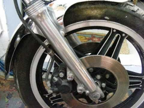 How to clean old motorcycle aluminium parts .KOKKINA FEGARIA TECH