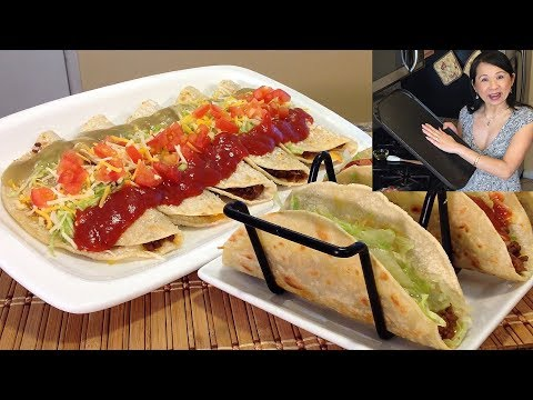 How To Make Pan Fried Tacos-Mexican Food Recipes