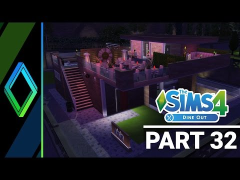 Sims 4 Dine Out Let's Play - Part 32