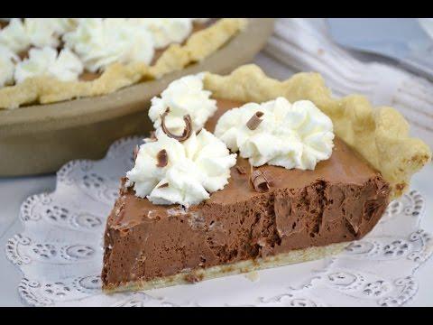 Chocolate Silk Pie Recipe | RadaCutlery.com
