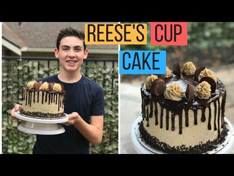 How To Make A CHOCOLATE PEANUT BUTTER DRIP CAKE! - Episode 45 Baking With Ryan
