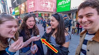 Giving NYC Strangers BALUT For The First Time?! (Duck Embryo)