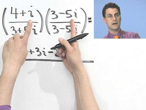 Dividing Complex Numbers, Part 1