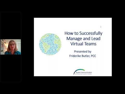 How to Successfully Manage and Lead a Virtual Team