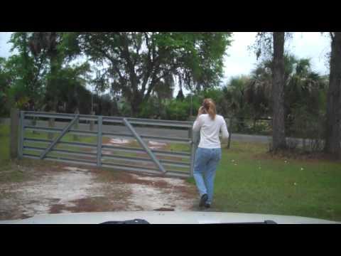 Garden - 01 - Going to get the cow poop