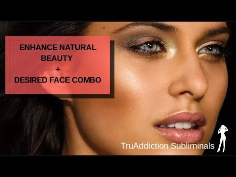 ENHANCE NATURAL BEAUTY+DESIRED FACE UNISEX(POWERFUL SUBLIMINAL MESSAGES)~TruAddiction Subliminals