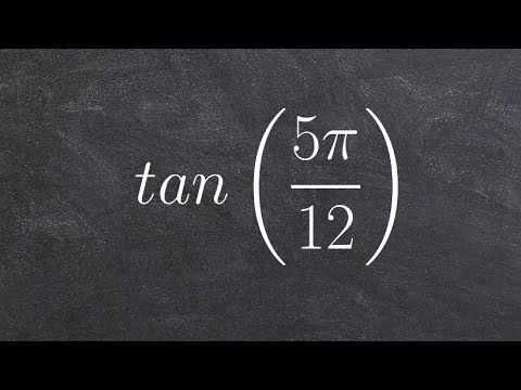 How to use the sum and difference formula for tangent