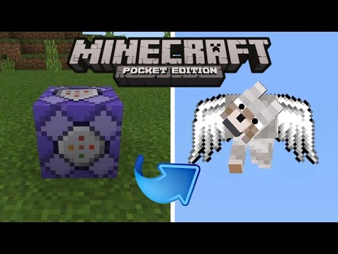 How to make your own wolf fly |minecraft pe [tutorial] no mods