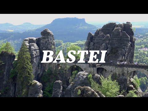 BASTEI, Elbsandsteingebirge // Stunning Rock Formation in Germany