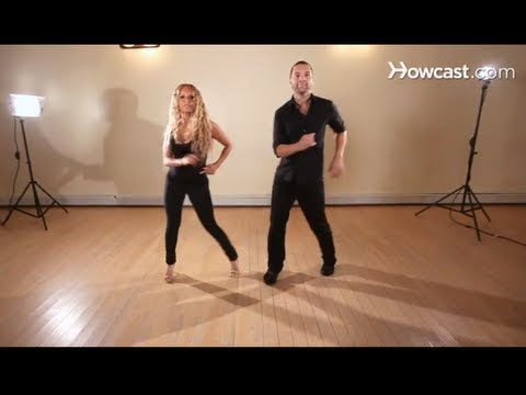 How to Do a Back Step   Salsa Dancing
