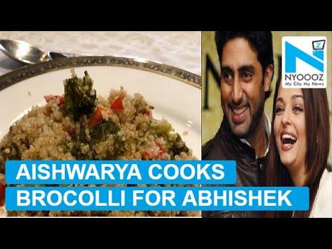 Aishwarya Rai cooked lunch for Abhishek but he isn't too pleased