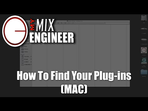 How To Find Your Plug-ins (MAC)