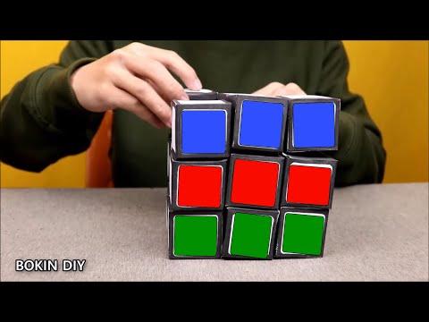 How To Make Giant Paper Rubik's Cube   DIY