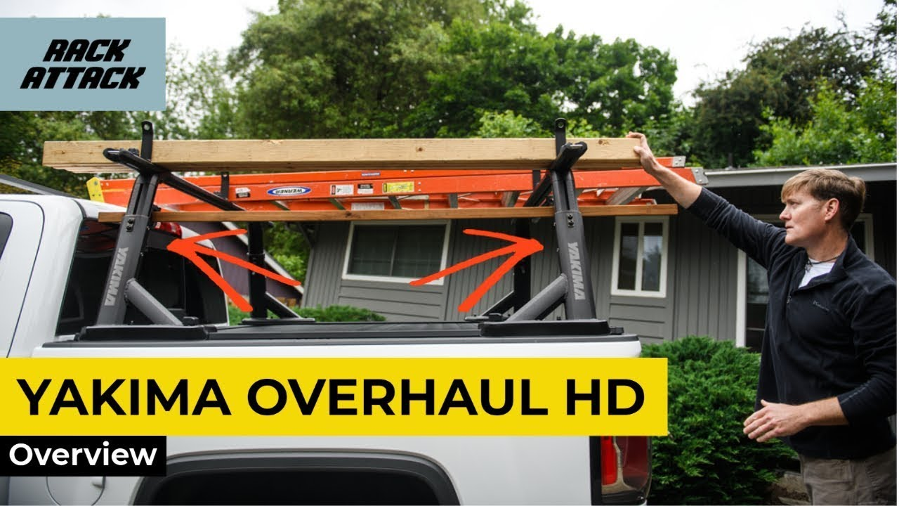 Yakima OverHaul HD Adjustable Height Heavy Duty Truck Bed Rack Install and Overview