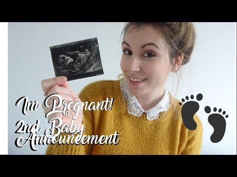 I'm Pregnant! 2nd Baby Announcement