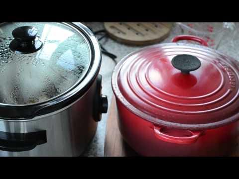 coq au vin: slow cooker v's the oven