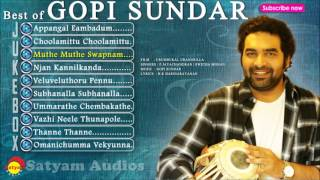Best of Gopi Sundar | Malayalam Film Songs