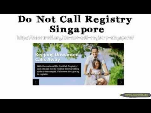 Do Not Call Registry Singapore - DNC Registration PDPC