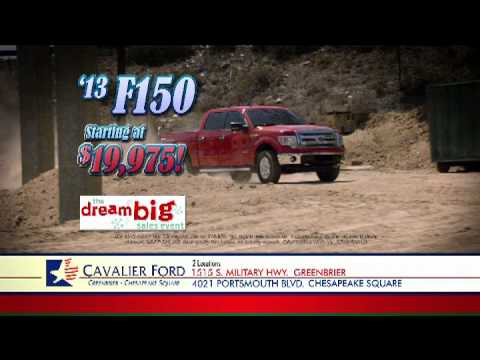 Cavalier Ford - Dream Big Sales Event