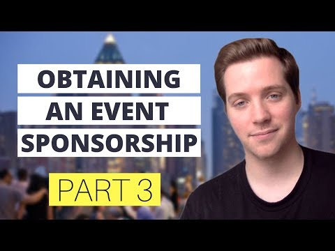 How to Get a Sponsor and Completely Sell Out Your Event? [Part 3]