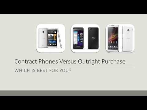 Contract Phones Versus Outright Purchase: Which Is Best For You?