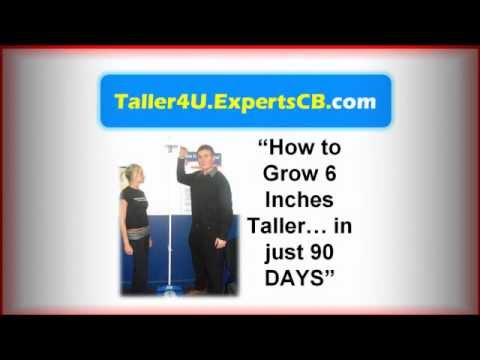 How to get taller fast and how to grow taller naturally