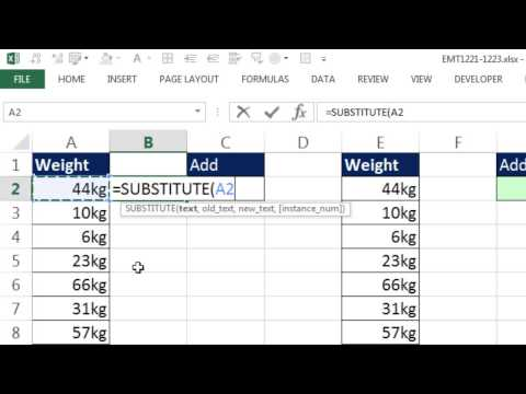 Excel Magic Trick 1222: Formula To Add 10kg, 6kg, 19kg: Array Formula Or Custom Number Format?