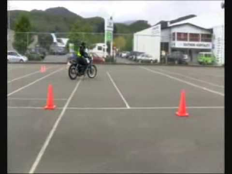 Basic Handling Skills for Learner Motorcycle Licence