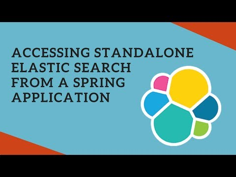 Accessing Standalone Elastic Search from a Spring App using Create, Update and Delete Index Example
