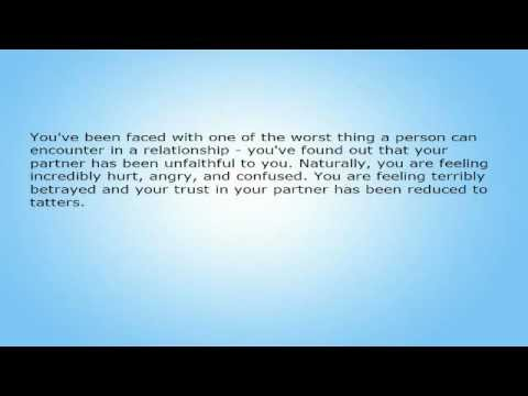 Some Helpful Hints to Aid in the Painful Process of Healing After An Affair!