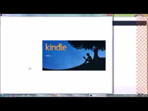 Amazon Kindle for PC registration failed problem resolved.