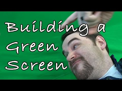 How to: Building a Green Screen Studio!