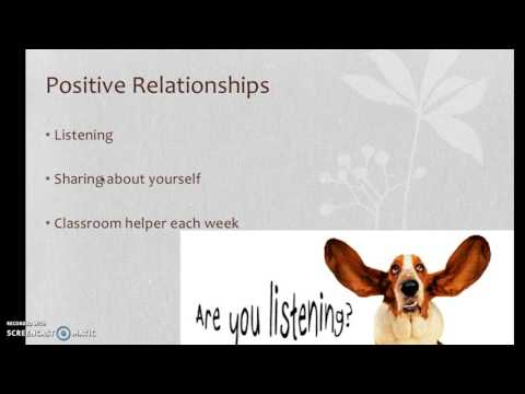 Behaviour Management Plan Video