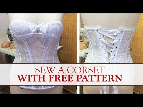 How to Make a Corset? FREE Sewing Pattern Download