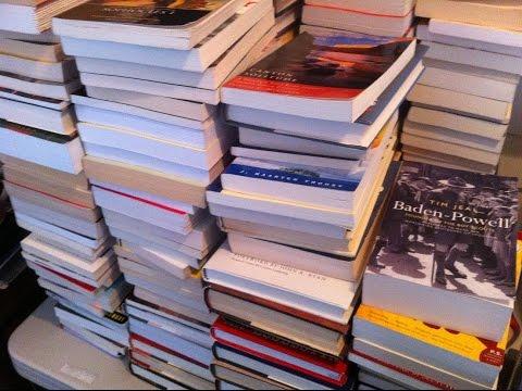 Making Money Selling On Amazon & Ebay Vlog. 400+ Books Sent To Amazon FBA Today!
