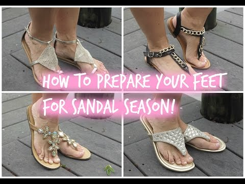 How to get baby soft feet! 👠👠👠