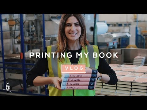 PRINTING MY BOOK | Lily Pebbles