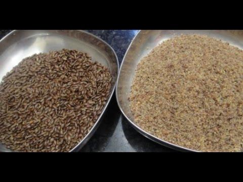 How To Use Flax Seeds | Omega 3 | Health Tips | English subtitle | Gowri Samayalarai