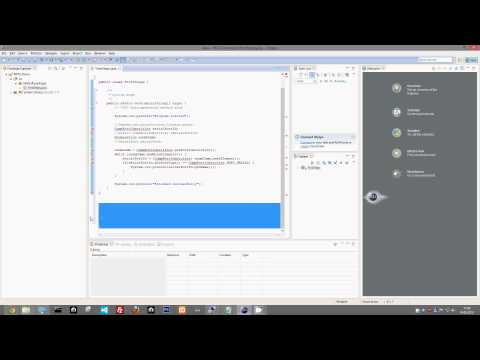How to use RXTX Libary in Eclipse (x64) - First Steps program - Tutorial
