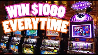 HOW TO HACK SLOT MACHINES AND WIN EVERY TIME!! ($100)