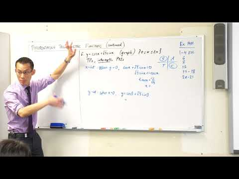Using Derivatives of Trigonometric Functions (2 of 2: Sketching a curve)