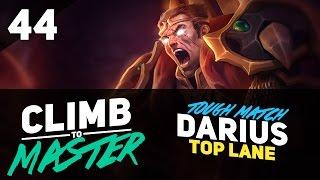 Tough Match on DARIUS - Climb to Master - Episode 44
