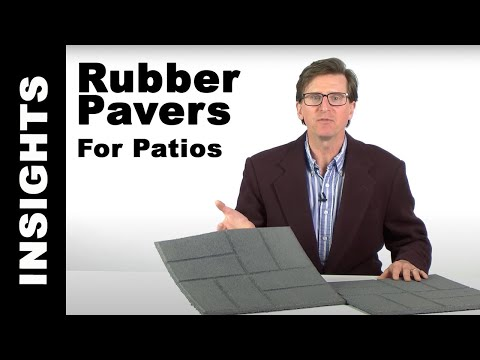 Outdoor Patio Tiles - Greatmats Rubber Pavers for Patios