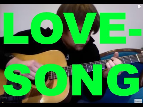 LOVESONG (The Cure/Adele) - David Plate Solo Guitar