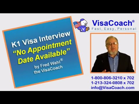 K1 Fiance Visa. No Appointment Date Available at Ustraveldocs.com Gen72