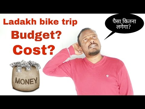 Budget for Ladakh bike trip? Cost Calculation. How much You Need? [Hindi]